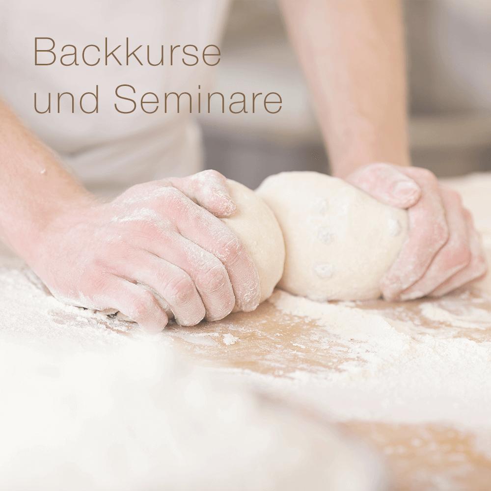 Backkurse und Seminare