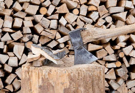 Holzbackofen Trockenheizen - Holzmenge