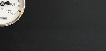 Edelstahl schwarz lackiert