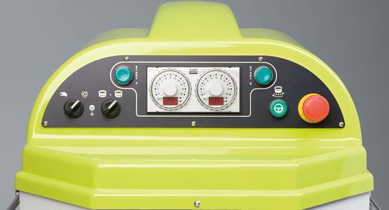 Bedienelemente SPM Teigknetmaschine