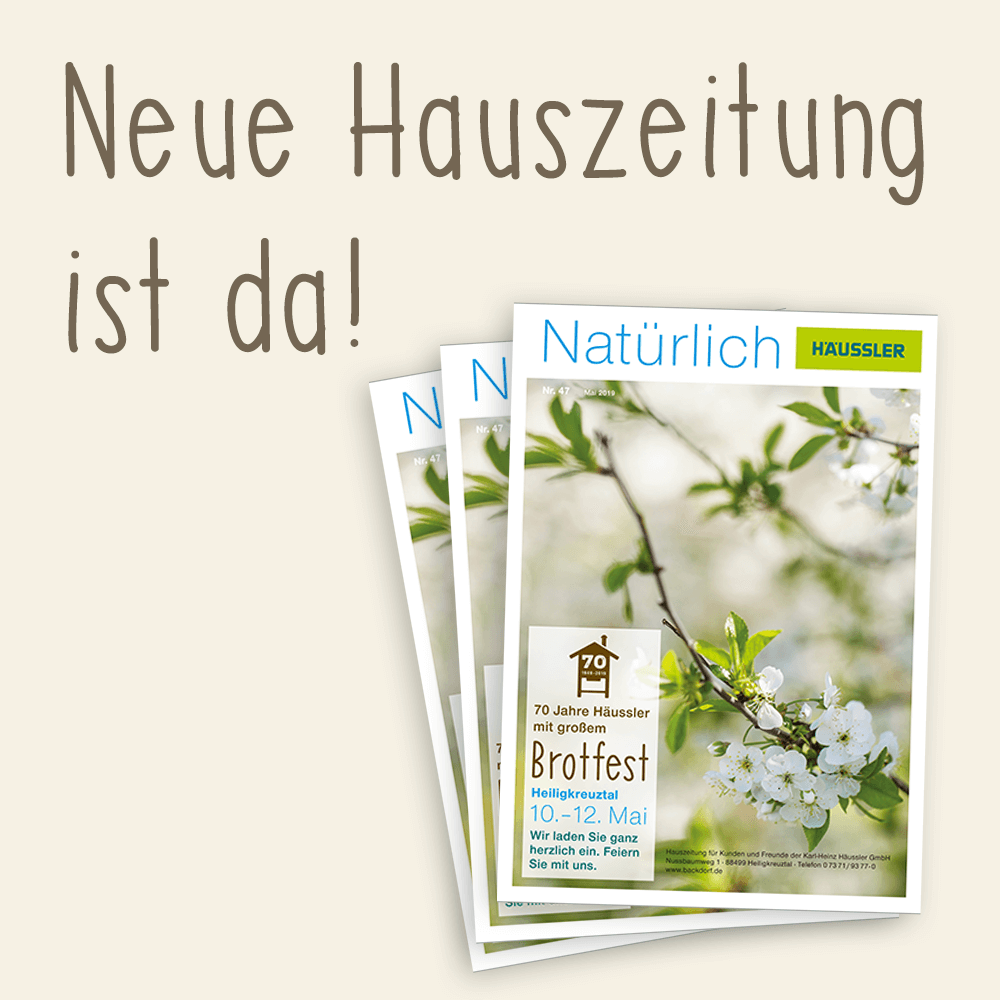 Hauszeitung Frühjahr 2019