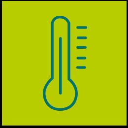 Klimatisierte Räume