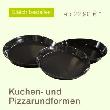 Kuchen- und Pizzarundform