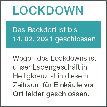 LOCKDOWN Backdorf Info
