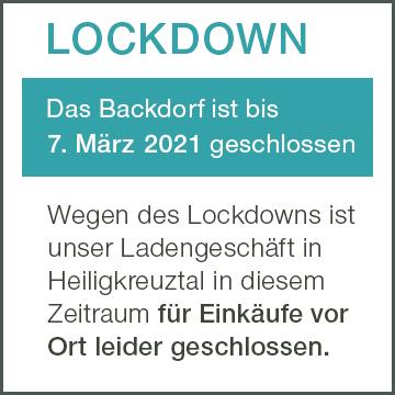 LOCKDOWN Backdorf Info