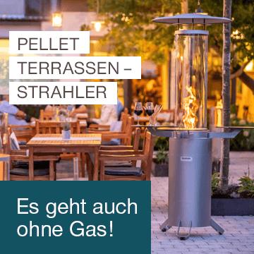 Pellet Terrassenstrahler