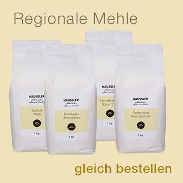 Regionale Mehle