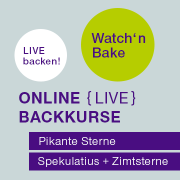 Watch'n Bake – Online Backkurse