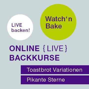Watch'n Bake – Online Backkurse