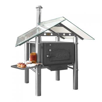 bau einer grill steinbackofen kombination. Black Bedroom Furniture Sets. Home Design Ideas