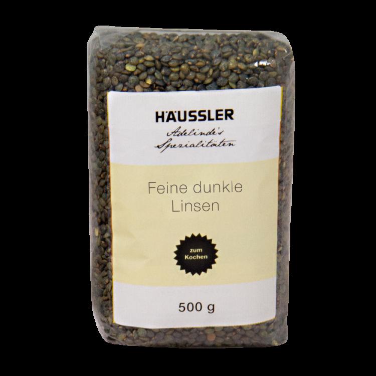 Dunkle Linsen - 500 g