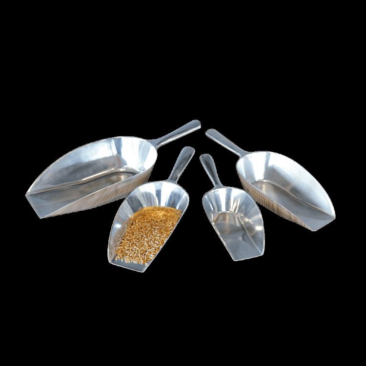 Abwiegeschaufeln Aluminium