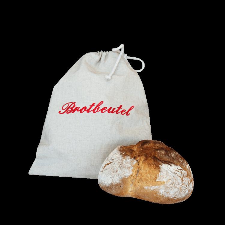 Brotbeutel mit Zuziehkordel