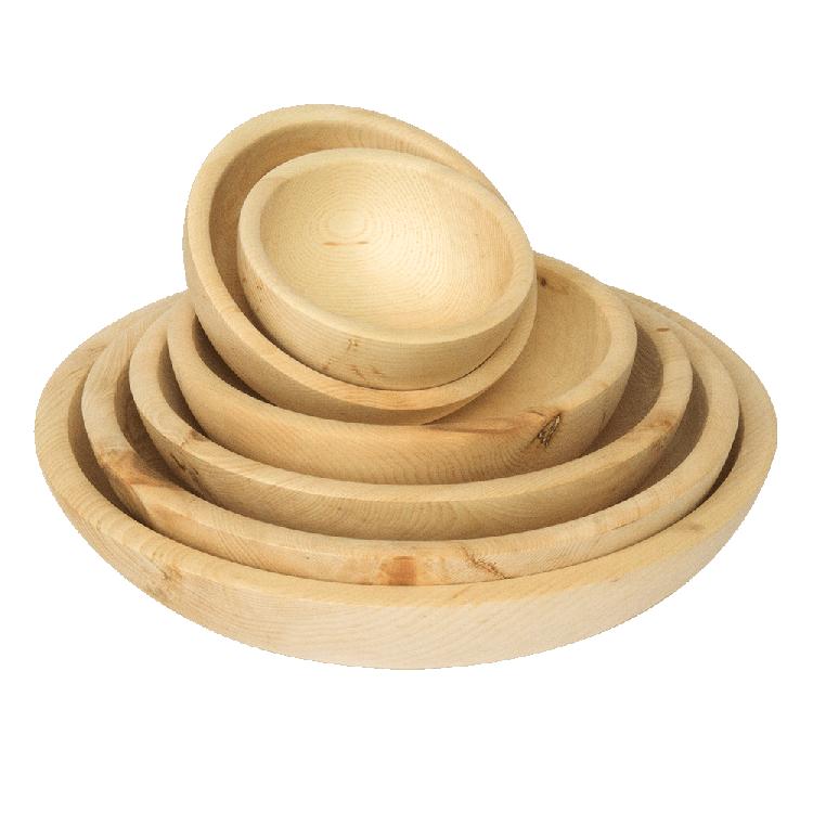 Holzschüssel aus Zirbelkiefer