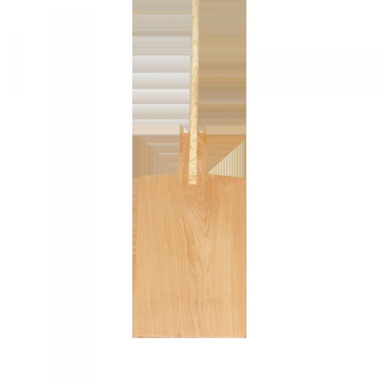 Brot- und Pizzaschieber mit Stiel rechteckig 40 x 25 cm, Stiel 175 cm