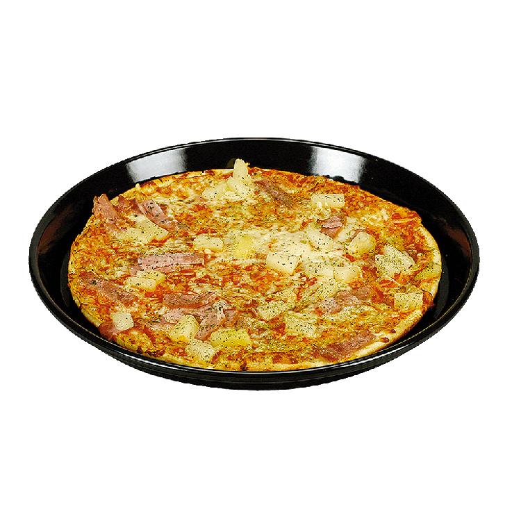 Kuchen- und Pizzarundformen Ø 28 cm; Boden Ø 24 cm (Rand 2,5 cm)