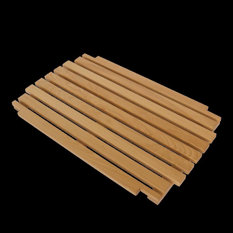 Holzrost als Ablage zum Fußgestell Primus