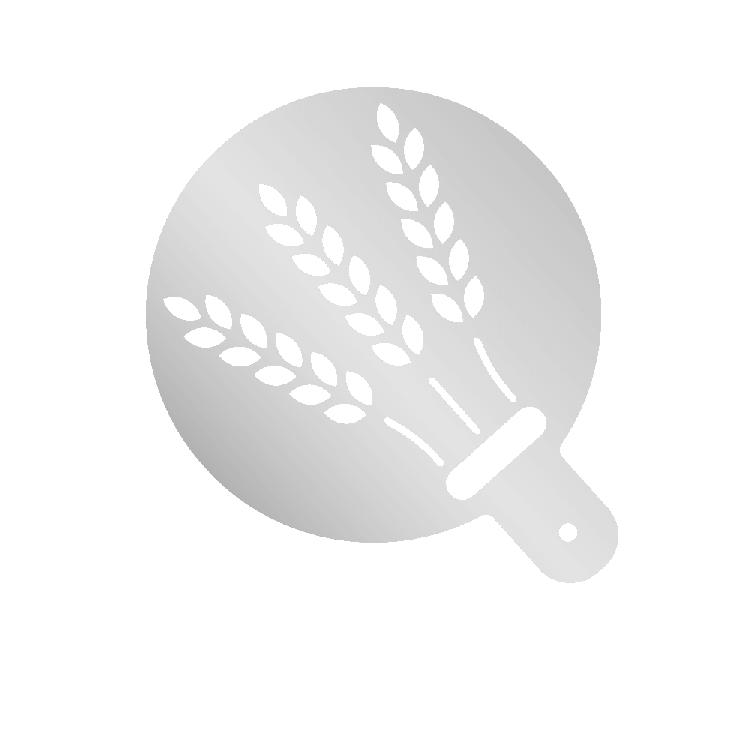 Mehlschablonen mit Motiv – Ähren