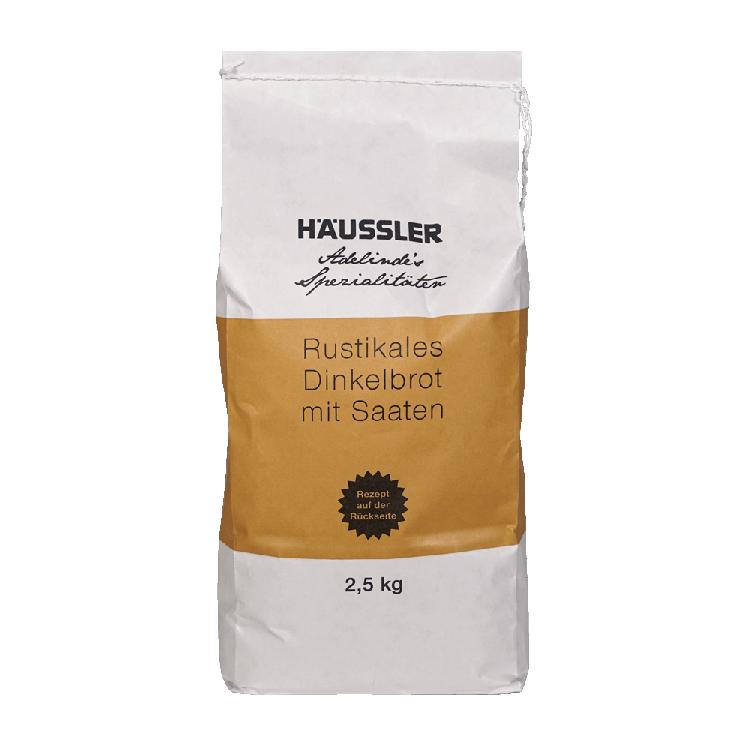 Rustikales Dinkel-Saaten-Brot 2,5 kg-Packung