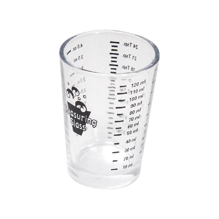Messbecher aus Glas