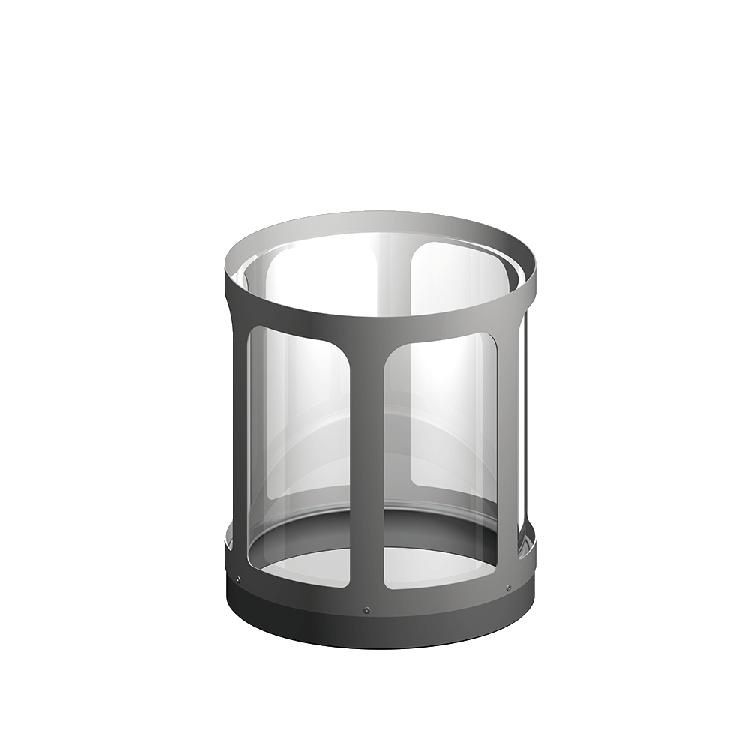 Halterung mit Glas Standard