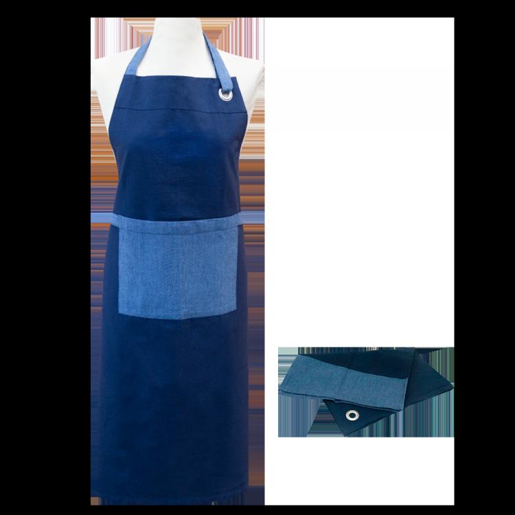 Textilien-Set culinaria blau