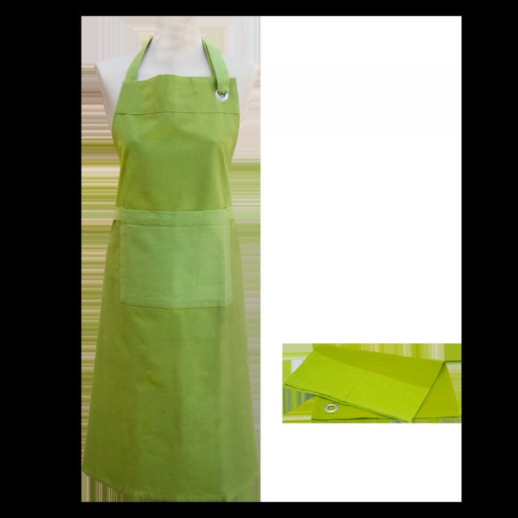 Textilien-Set culinaria grün