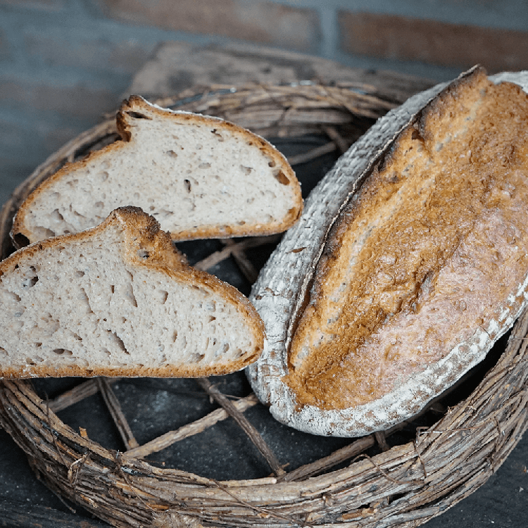 Weizenmischbrot mit Hefewasservorteig, Langzeitführung