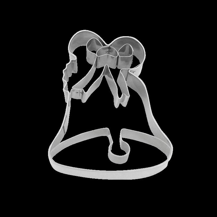 Präge-Ausstecher Weihnachten Glocke ca. 8 cm