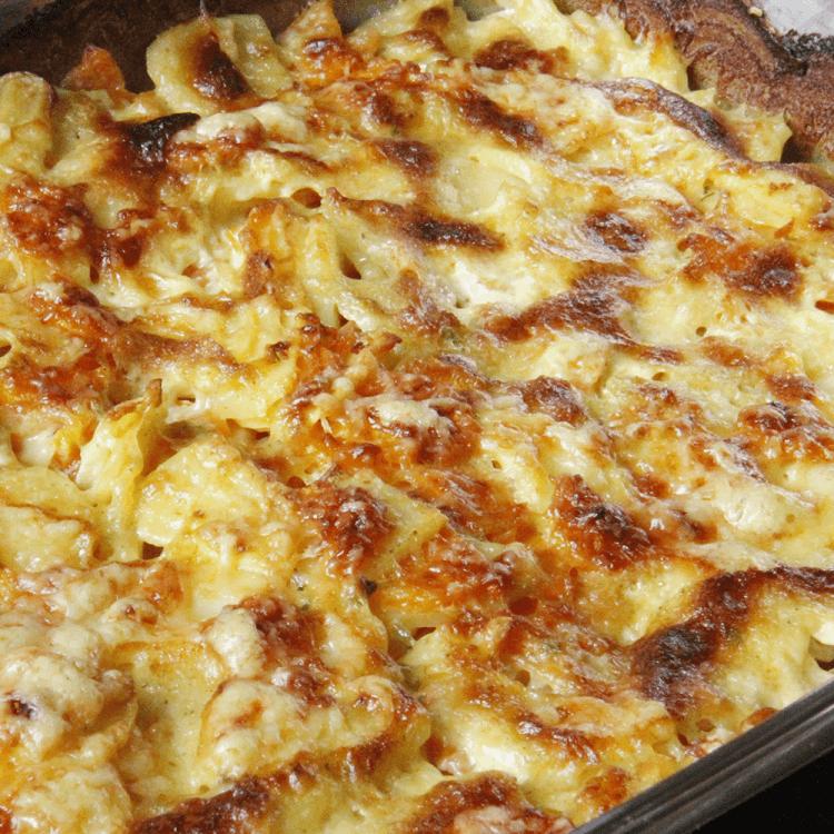 Kartoffel-Karottenauflauf