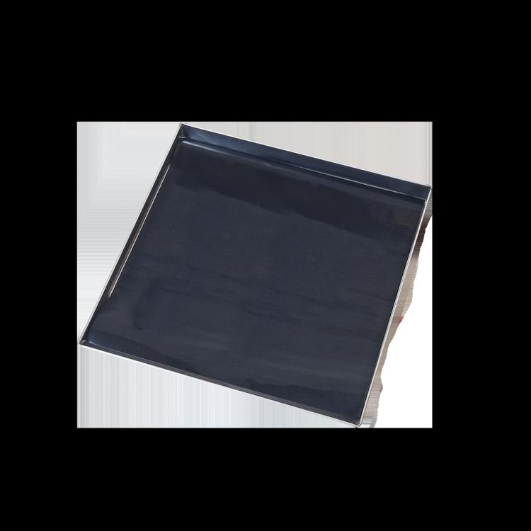 Lochblech mit Dauerbackfolie Mono
