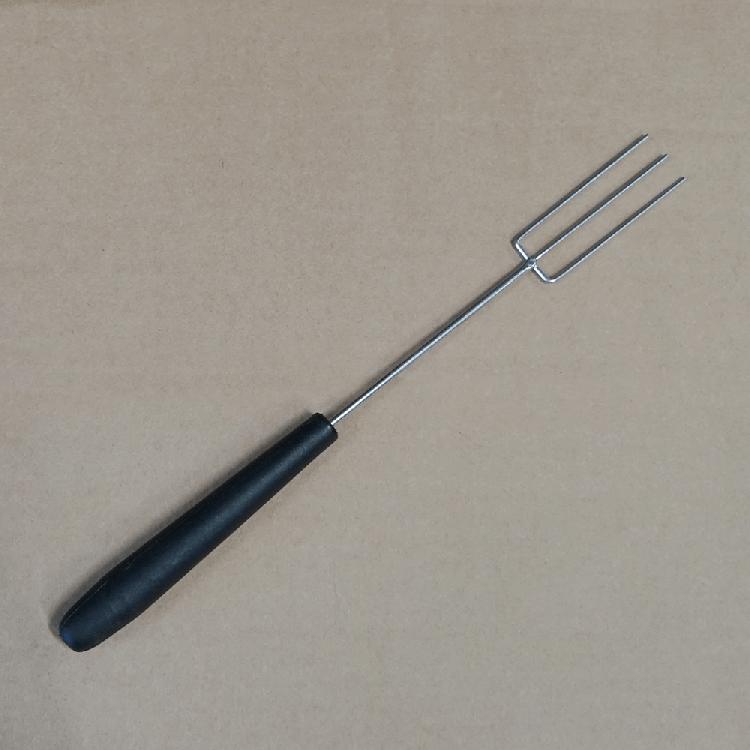 Pralinentunkgabel 3-zinkig