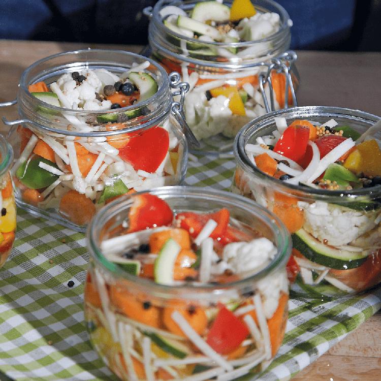 Mixed Pickles einmachen