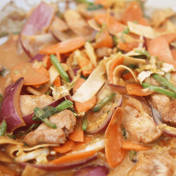 Hähnchencurry