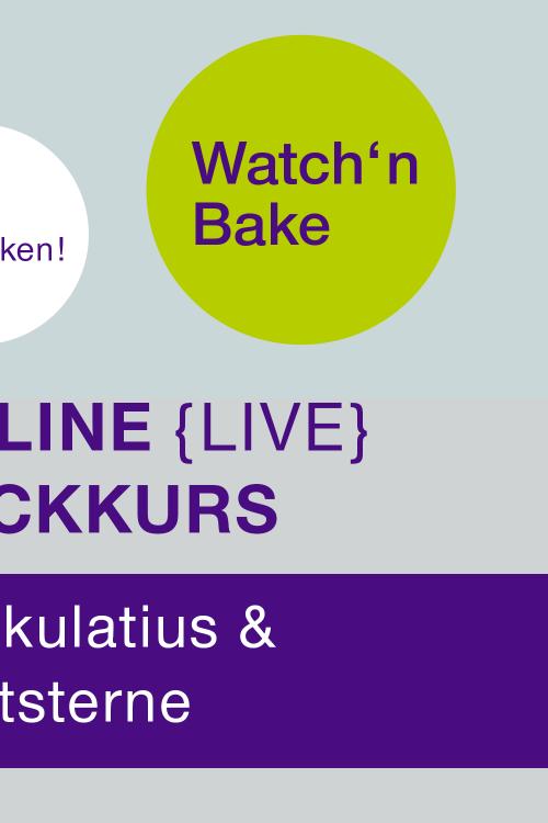 Watch'n Bake: Spekulatius + Zimtsterne